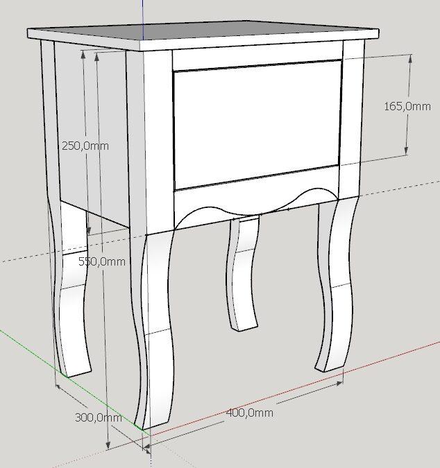 CAD für Holzwerker – Sketchup